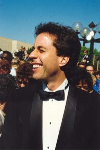Thin, single, and neat - Jerry Seinfeld in 1992.