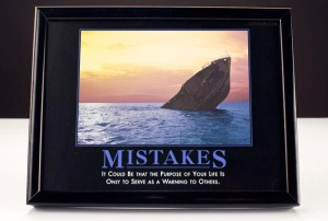 Mistakes Demotivational Poster.flickr.DuncanHullCC