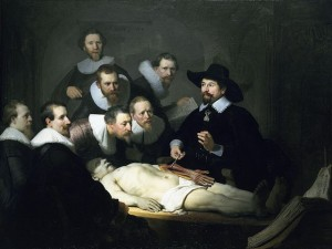 Rembrandt.The_Anatomy_Lesson.Wikipedia (public domain)