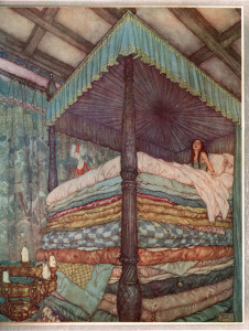 Princess and the Pea.flickrCC.plaisanter.EdmundDulac