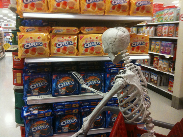 skeleton grocery shoppingflickrccmikemozart