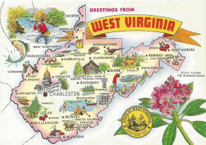 West Virginia postcard.flickrCC.NoeAlfaro