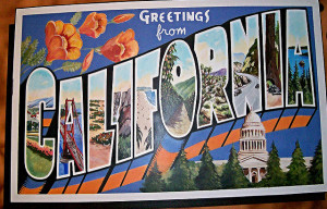 California Postcard.flickr.public domain