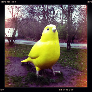 Canary Statue.flickrCC.MichaelSonnabend