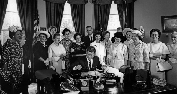 Kennedy signs EPA into Law